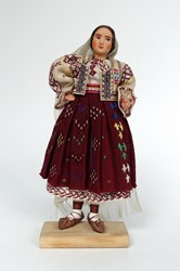 Picture of Romania Doll Vilcea with Veil