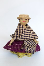 Picture of Ecuador Woven Straw Doll