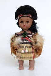 Picture of New Zealand Doll Maori