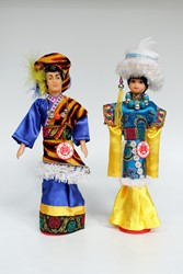 Picture of China Dolls Tibetan People