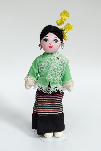 Picture of Thailand National Costume Doll