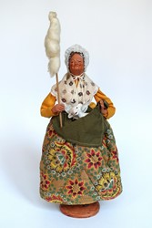 Picture of France Santon Doll Shepherdess