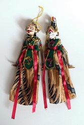 Picture of Indonesia Wayang Golek Dolls Java