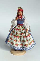 Picture of Poland Doll Sieradz Bride