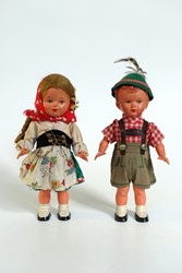 Picture of Germany Bavaria Wind Up Dancing Dolls