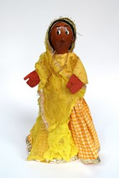 Picture of India Doll Hand Puppet