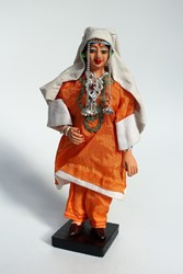 Picture of India Doll Kashmir Orange Dress