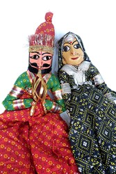 Picture of India Dolls Rajasthan Kathputli Puppets