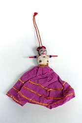 Picture of India Folk Doll Rajasthan