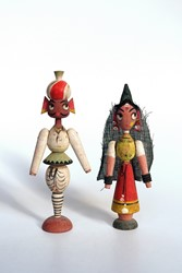 Picture of India Folk Dolls