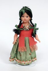 Picture of Mexico China Poblana Doll