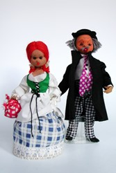 Picture of Germany Dolls Pair with Fat Male