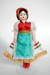 Picture of Hungary Doll National Colours